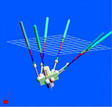 3次元CADを用いたパラレル機構工作機械の運動精度解析